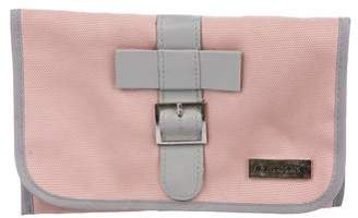 Viktor & Rolf Leather-Trimmed Nylon Clutch