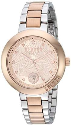 Versus By Versace Women's 'LANTAU ISLAND' Quartz Gold and Stainless Steel Casual Watch