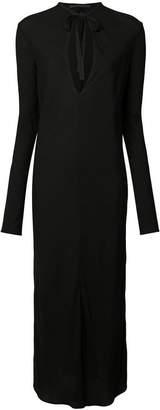 Haider Ackermann long shift dress