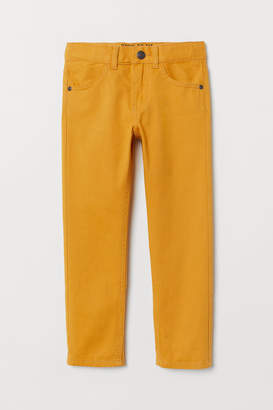 H&M Twill trousers Regular Fit