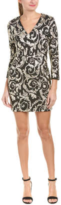 Anine Bing Brocade Cocktail Dress