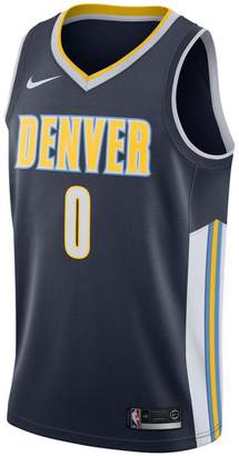 Nike Emmanuel Mudiay Icon Edition Swingman Jersey (Denver Nuggets) Men's NBA Connected Jersey