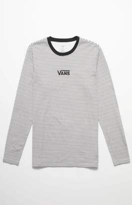 Vans Drop V Stripe Long Sleeve T-Shirt