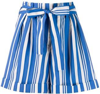 Parker Chinti & striped shorts