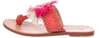 Ulla Johnson Leather Embellished Sandals