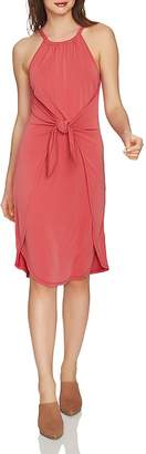 1 STATE 1.STATE Sleeveless Tie-Front Dress