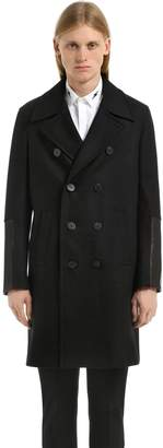 Neil Barrett Double Breasted Wool Coat