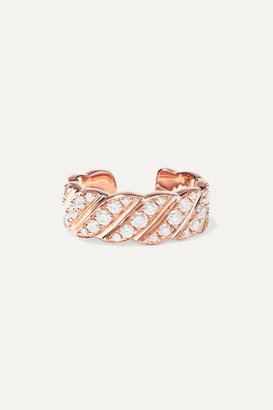 Anita Ko 18-karat Rose Gold Diamond Ear Cuff