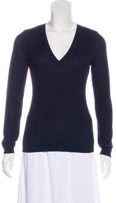 RED Valentino V-Neck Wool Top