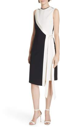 Diane von Furstenberg Lindsey Asymmetrical Faux Wrap Dress