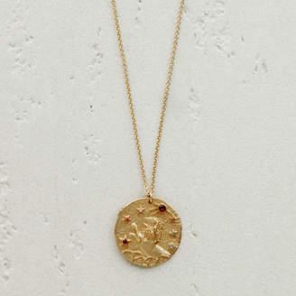 Maje Lion zodiac sign necklace