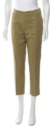Berwich Mid-Rise Madame Pants Khaki Mid-Rise Madame Pants