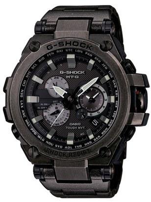 Men's G-Shock 'Solar Atomic' Chronograph Bracelet Watch, 66Mm X 56Mm $1,400 thestylecure.com
