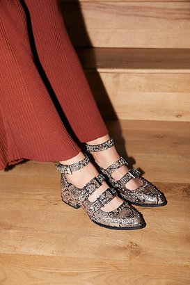 Cooper Studded Flat by Jeffrey Campbell at Free People $168 thestylecure.com