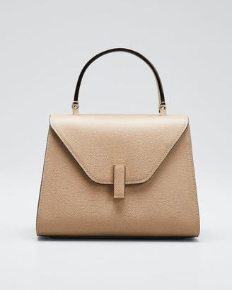 Valextra Iside Mini Leather Satchel Bag