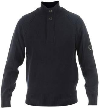 C.P. Company Blue Woolen Knitwear
