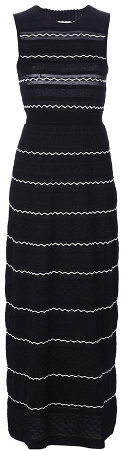 M Missoni sleeveless knitted maxi dress