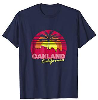Oakland California Vintage T Shirt Souvenir