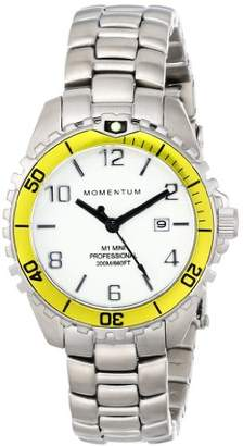 Momentum Women's 1M-DV07WY0 Mini Analog Display Quartz Silver Watch