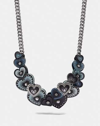 Coach Heart Necklace