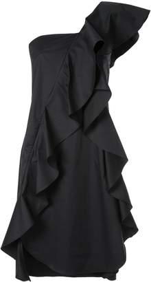 GOEN.J ruffled one-shoulder dress