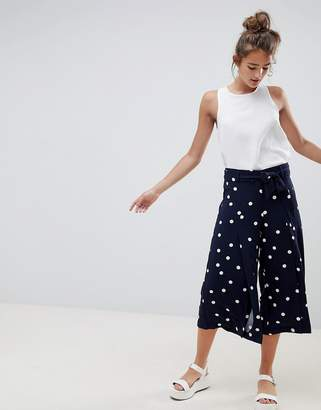Only Polka Dot Culotte Pants