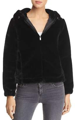 Andrew Marc Faux-Fur Hooded Jacket