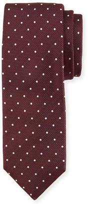 BOSS Pin Dot Silk Tie