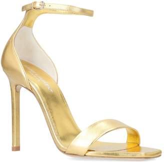 Saint Laurent Metallic Amber Sandals 105