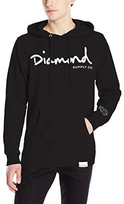 Diamond Supply Co. Men's OG Script Pullover Hoodie