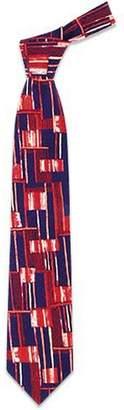 Forzieri Abstract Pattern Silk Tie