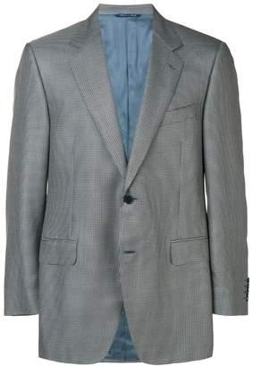 Canali micro check blazer