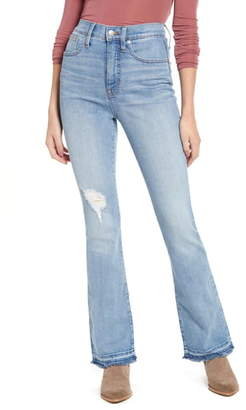Madewell High Waist Skinny Flare Jeans