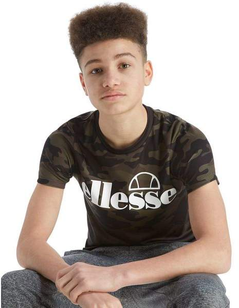 Bergio Fade Poly T-Shirt Junior