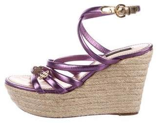 Louis Vuitton Platform Wedge Sandals