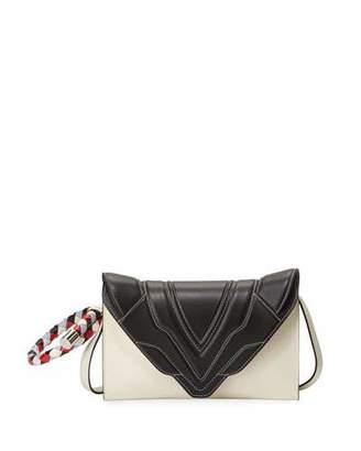 Elena Ghisellini Felina Mignon Crossbody Bag with Ring