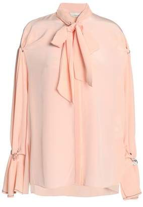 3.1 Phillip Lim Pussy-Bow Embellished Silk Crepe De Chine Blouse