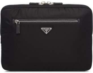 Prada Saffiano laptop case