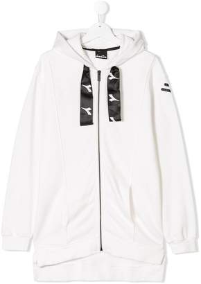 Diadora Junior TEEN zip-up hoodie