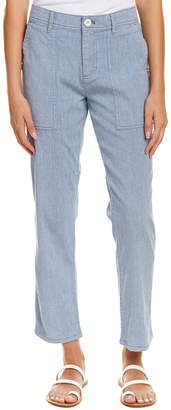 James Perse Relaxed Workwear Linen-Blend Pant