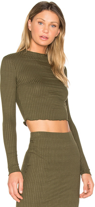 LA Made Emanuelle Crop Top $52 thestylecure.com