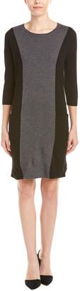 Boden Wool-Blend Shift Dress