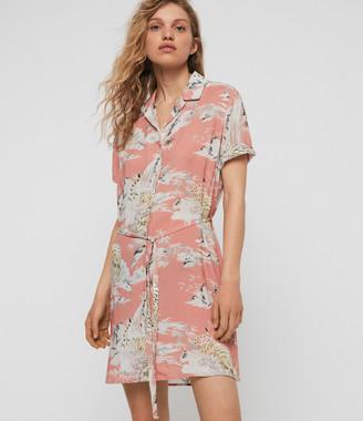 AllSaints Amia Borneo Dress