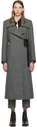 MM6 MAISON MARGIELA Grey Wool Coat