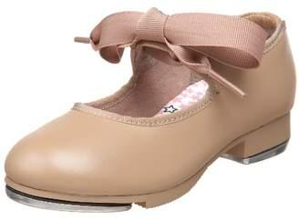 Capezio Girl's Jr. Tyette N625C (Toddler/Little Kid) Sneaker 13 Little Kid W