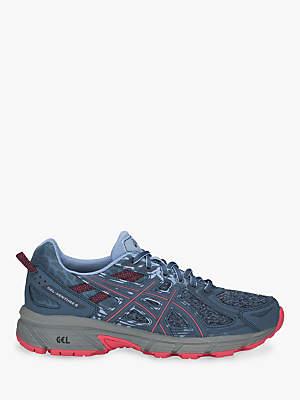 Asics GEL-VENTURE 6 Women's Running Shoes, Blue/Pink