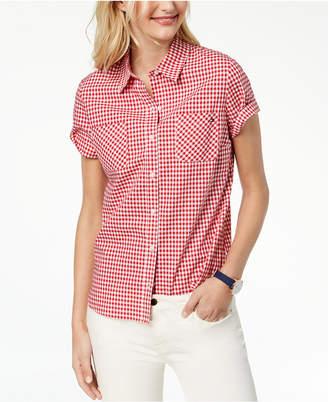 Tommy Hilfiger Short-Sleeve Cotton Shirt