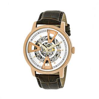 Reign Unisex Brown Strap Watch-Reirn3604
