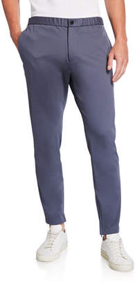 Theory Men's Pier Compact Ponte Jogger Pants