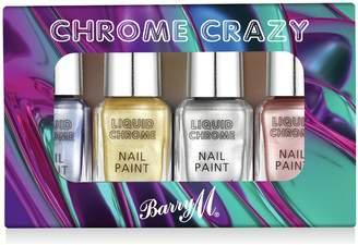 Barry M Cosmetics Liquid Chrome Nail Paints